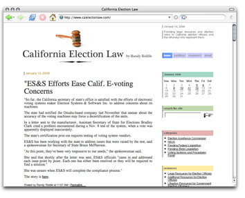 calelectionlaw